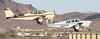 Beech N35 Bonanza N627B and 35-A33 Debonair N560T (ChrisK48) Tags: 1961 a33 aircraft airplane b2osh beech35a33 beechcraft dvt debonair kdvt n560t phoenixaz phoenixdeervalleyairport 35 beechn35 bonanza n627b