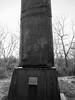 compressed smokestack. lake katherine (timp37) Tags: black white art palos 2017 november illinois lake katherine sidney sydney compressed smokestack buchanan sculpture
