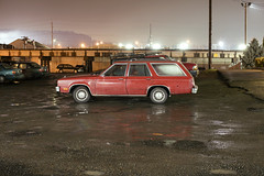 1979 Mercury Zephyr Station Wagon (Curtis Gregory Perry) Tags: oregon city mercury zephyr station wagon 1978 1979 1980 1981 car automobile parking lot mud dirt puddle night long exposure automotive classic old vehicle nikon d810 automóvil coche carro vehículo مركبة veículo fahrzeug automobil