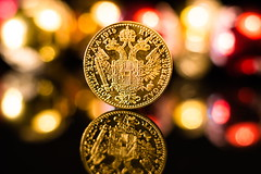 One Ducat (Theo Crazzolara) Tags: coin gold münze ducat österreich beautiful rare rich business money kaiser emperor franzjoseph dukat lodillrex 1915 hvngarbohemgal franciosidgavstriaeimperator austria