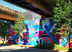 Inman Park Underpass by Greg Mike (wiredforlego) Tags: graffiti mural streetart urbanart aerosolart publicart atl atlanta georgia gregmike