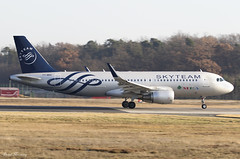MEA (SkyTeam Livery) A320-200 T7-MRD (birrlad) Tags: frankfurt fra international airport germany aircraft aviation airplane airplanes airliner airline airlines airways taxi taxiway takeoff departing departure runway airbus a320 a320200 a320214 t7mrd mea skyteam livery decals titles colour scheme me218 beirut