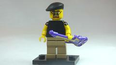 Brick Yourself Custom Lego Figure Chilled Bassist