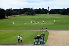 Cricket (Worthing Wanderer) Tags: norfolk summer sunny farmland coast seaside nelson holkham burnham hero august
