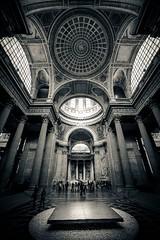 Paris, Pantheon, nef, 2 (Patrick.Raymond (4M views)) Tags: paris pantheon eglise nef baroque hdr nikon