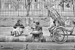 Seller and Buyer (Sagor's) Tags: nikon nikond5300 nikon5300 street streetphotography bangladesh black bd beautiful bw nikkor nikkor55