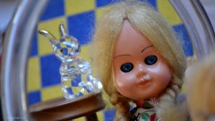 Alice Through The Looking Glass - MM (Zsofia Nagy) Tags: myfavouritenovelfiction macromondays alice doll hare toy