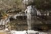 IMG_4915 (jackie.moonlight) Tags: western north carolina wnc waterfall ice icy nantahala national forest bridal veil falls highlands nc hwy highway 64