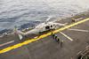 180127-N-ZS023-003 (U.S. Pacific Fleet) Tags: ussamerica lha6 amphibiousassaultship sailors people usnavy usmc marines cpr3 comphibron3 commanderamphibioussquadron 15thmeu marineexpeditionaryunit arg aarg amaarg ama americaarg amphibiousreadygroup deployment 7thfleet areaofoperations aoo tigercruise tiger cruise seahawk mh60sseahawk helicopter air flight flightoperations flightdeck boarding pacificocean