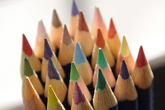 Color Pencils (runslikethewind83) Tags: color colors pencil art stationary tip red blue green