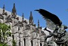 The Cathedral of St. John the Divine (oswaldjasmin) Tags: cathedral divine statue architecture church