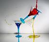 Flippin' cocktails (Wim van Bezouw) Tags: sony ilce6000 highspeed glass water liquid pluto trigger plutotrigger