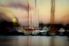 Sunset at the Port de Barcelona (Fnikos) Tags: port porto puerto harbour sunset sun city architecture sea water waterfront sky skyline boat outdoor