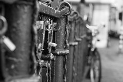 (pacosanchez8) Tags: street streetphotography bycicles blackandwhite beautiful black bw bokeh monochrome road amsterdam travel photography canon contrast creativity creation creative 50mm