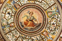 Uffizi Gallery ceiling, Florence, Italy (George Fournaris) Tags: uffizi gallery ceiling upwards art