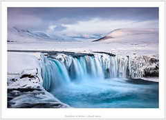 Godafoss In Winter (mistymornings99) Tags: water iceland godafoss waterfall