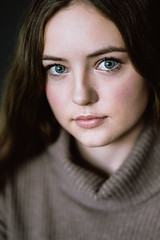 Kate ii (nicksparksphotography) Tags: portrait people sony 85mm blue eyes 3 zeiss f14 85 a7 otus iii f 14 turtle neck a7r 42mp a7riii a7r3