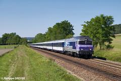 CC72145 sur train de pèlerinage Troyes Lourdes vers Braux le Châtel (philippedreyer1) Tags: