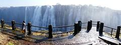Babylon Mazuba at Vic Falls, Zambian side