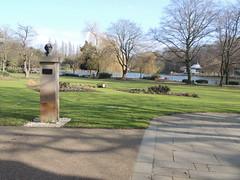 Jerome K Jerome - Walsall Arboretum Bust 001 (touluru) Tags: brownhills lichfield walsall west midlands ws jerome k three men boat arboretum bust
