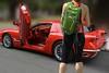 Custom Corvette (Scott 97006) Tags: corvette red custom beautiful clean awesome spectacular