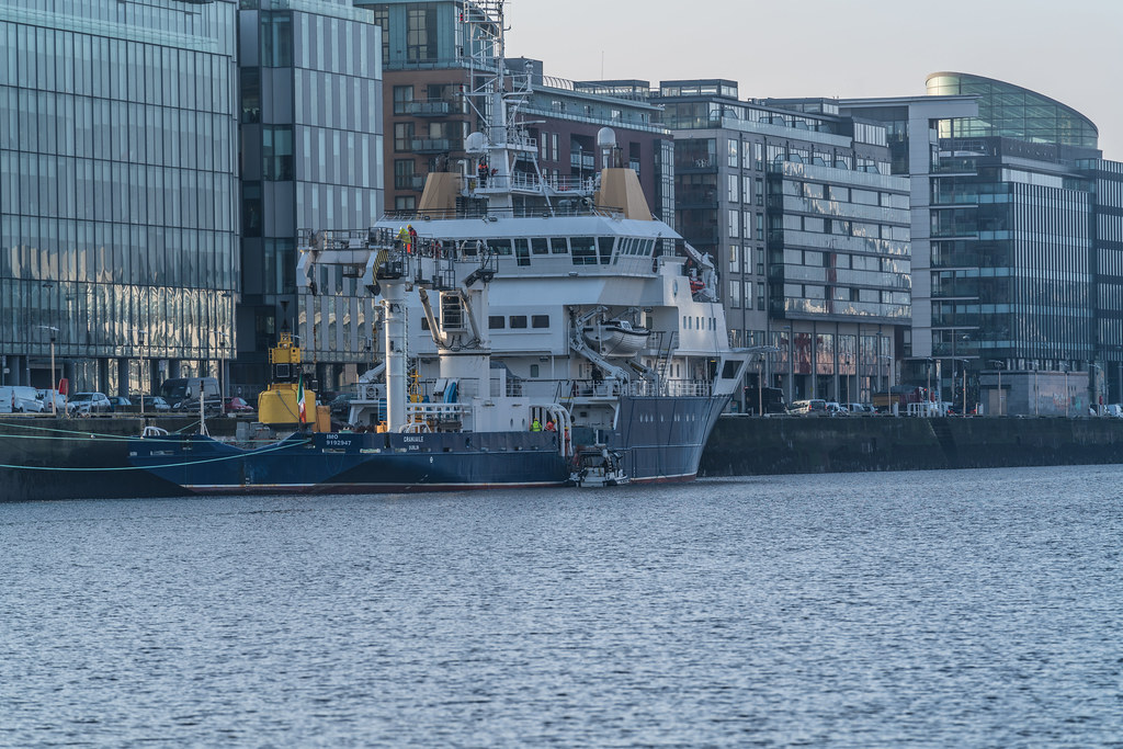 ILV GRANUAILE VISITS DUBLIN [11 JANUARY 2018]-135377