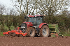 Case IH Puma 175 CVX Tractor with a Twose PF1-300 Premium Front Press, an Amazone AD303 Seed Drill & Power Harrow (Shane Casey CK25) Tags: case ih puma 175 cvx tractor twose pf1300 premium front press amazone ad303 seed drill power harrow midleton traktori traktor trekker tracteur trator ciągnik sow sowing set setting drilling tillage till tilling plant planting crop crops cereal cereals county cork ireland irish farm farmer farming agri agriculture contractor field ground soil dirt earth dust work working horse horsepower hp pull pulling machine machinery grow growing nikon d7200