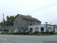 The Middle of Nowhere (Picsnapper1212) Tags: cars trucks vans abandonedbuildings ohio wilmington scene clintoncouty