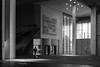 Einzelgänger (Alex von Sachse) Tags: labonnheure bonn kunstmuseum artmuseum fineart monocrome schwarzweiss architekrur architecture night fujix100f fuji x100f street streetphotography streetlife