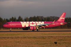 TF-SKY Airbus A321-253N EGPH 14-01-18 (MarkP51) Tags: tfsky airbus a321253n a321 wowair ww wow edinburgh airport edi egph scotland aviation aircraft airliner airplane plane image markp51 nikon d7100 d7200 sunshine sunny aviationphotography