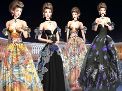 LuceMia - JUMO (MISS V♛ ITALY 2015 ♛ 4th runner up MVW 2015) Tags: jumo sl new fashion mesh gown maitreya belleza slink zen hair cora creations hud colors textures beauty models lucemia