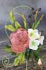 Austin rose and hydrangeas (Albena Bojidarova) Tags: gumpaste