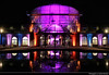 Eingangschauhaus, Winterlichter, Palmengarten, Frankfurt, Germany (JH_1982) Tags: eingangschauhaus lake pool reflection reflections architecture building dome cuppola glass winterlichter palmengarten winter lights light art kunst installation colour color colours colors park garden artistic künstler farbe glow glowing leuchten dunkel dark darkness nacht night nuit noche notte 晚上 夜 ночь beleuchtet beleuchtung lumière luz 光 свет evening frankfurt frankfurter francfort fráncfort francoforte meno 美因河畔法兰克福 フランクフルト フランクフルト・アム・マイン франкфурт hessen hesse germany deutschland allemagne alemania germania