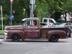 1950's Ford F-Series Pickup (harry_nl) Tags: germany deutschland 2017 wuppertal ford fseries pickup official ratrod