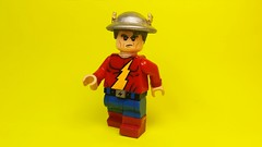 Custom Lego Jay Garrick (Brickophilia) Tags: custom lego minifigure jay garrick flash speedster