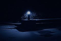 Światło błękitu (bartkowskikrzysztof) Tags: błękit noc światło śnieg zima polska mazury xt20