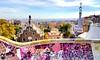 Park Güell (BeckiDanielle) Tags: colours colourful barcelona spain architecture gaudi mosaic sunshine holiday sun park guellpark art artistic fairytale artist pink sunny catalonia