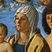 BELLINI Giovanni,1487 - La Vierge et l'Enfant entre Saint Pierre et Saint Sébastien (Louvre) - Detail 69