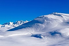 Blue and Withe (sylviafurrer) Tags: mountain berge schnee snow blau blue weiss white alpen alps switzerland aletsch wallis valais
