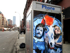 Baskets TV poster billboard Public Phone Booth 6135 (Brechtbug) Tags: baskets starring zach galifianakis louie anderson tv poster billboard phone booth 9th ave west side zmanhattan fx channel new comedy premieres tuesday january 23rd 10 pm nyc 2018 york city ad advertisement ads clown rodeo horse french humor