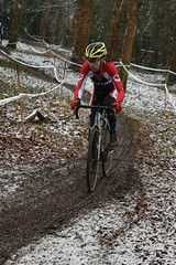 DSC_0086 (sdwilliams) Tags: cycling cyclocross cx misterton lutterworth leicestershire snow