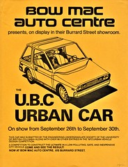 1972 U.B.C. Urban Car (Canada) (aldenjewell) Tags: 1972 ubc urban car university british columbia flyer