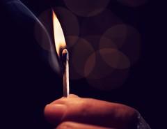 Exposure (jarrardphotography) Tags: alienbeestrobe photography practice exposure fire macromonday nikon flame hand lit litup macro match matchstick playwithfire smoke tokina
