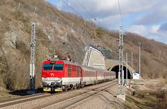 Zrýchlené IC (Nikolaj Šeršeň) Tags: 350 350019 gorila zsr 120 tunel turecký vrch zssk ic 510 intercity blonski šero nové mesto nad váhom