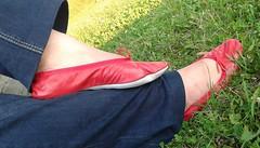 Gigi (5328) (Duke of Slippers) Tags: ballet slippers shoes pumps flats fetish footwear ballerinas ballerines scarpe pantofole pantoufles soft soles