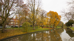 Autumn in Utrecht (HansPermana) Tags: utrecht nederland netherlands niederlande city cityscape canal kanal water reflection autumn herbst 2017 november eu europa europe