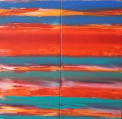 colorful visitors (Peter Wachtmeister) Tags: artinformel art modernart artbrut minimalart acrylicpaint abstract abstrakt popart surrealismus surrealism hanspeterwachtmeister