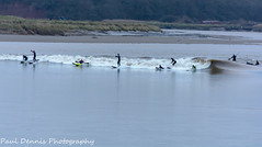 Severn Bore. (minar5) Tags: severnboreboatswater surf nikon nature wales water surfing