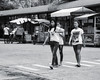 Girls Crossing (Beegee49) Tags: street monochrome black white girls filipina crossing silay city philippines