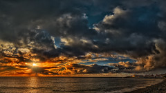 Canarian Sunset (Jörg Bergmann) Tags: islascanarias lagomera playadelacalera puestadesol vallegranrey atardecer canarias canaryislands clouds coast españa gf7 gomera lumix m43 mft ocean panasonic sea seascape sky spain sun sunbeams sunburst sunrays sunset travel vacation winter stitched laplaya microfourthirds micro43 skyscape nohdr panasonic1232mmf3556 wallpaper μ43 lumixgvario1232f3556 panasonicdmcgf7 crepúsculo sonnenuntergang 2018 february contraluz backlight invierno water